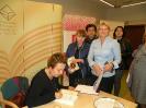 Dyskusyjny Klub Książki na spotkaniu autorskim z Elżbietą Cherezińską