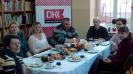 Wigilijne spotkanie DKK w Filii bibliotecznej w Górach